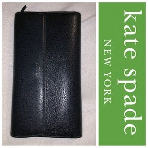 Kate ♠️ Spade Classic Black Leather Wallet